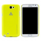 ROCK Protective Plastic Case for Samsung Galaxy Note 2 N7100 - Yellow