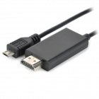 Micro USB MHL to HDMI Adapter - Black (295cm)