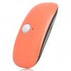 0.5W Light-Operated / Human Body Infrared Induction LED Broad Bean Lamp - Orange (2 x 6F22)