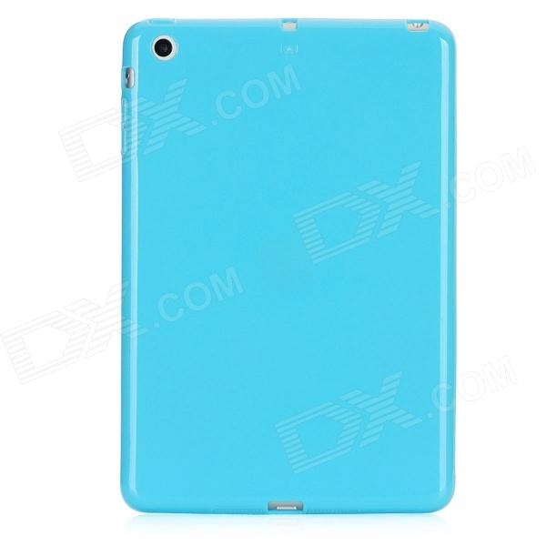 Protective TPU Back Case for Ipad MINI - Blue for ipad mini4 cover high quality soft tpu rubber back case for ipad mini 4 silicone back cover semi transparent case shell skin