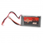 Wild Scorpion Replacement 7.4V 25C 900mAh Li-Poly Battery Pack for R/C Model - Grey + Silver