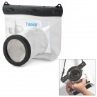 Tteoobl GQ-518L Waterproof Protective Bag for Canon 550D / Nikon D90 + More - White