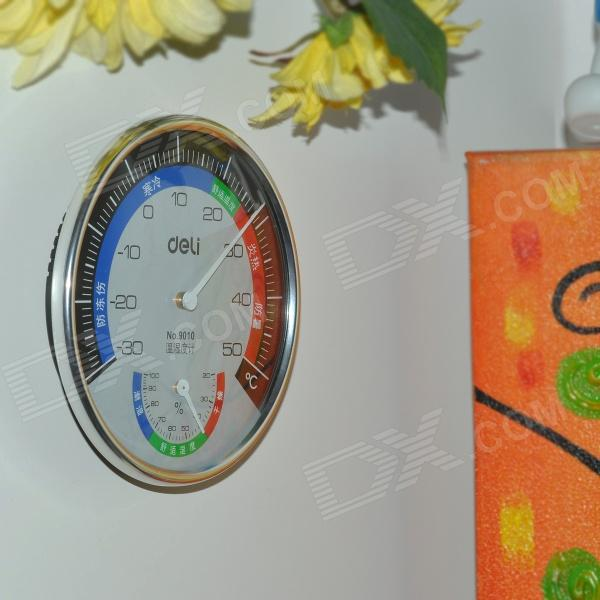 Int rieur mural ext rieur thermom tre humiditymeter for Thermometre exterieur original