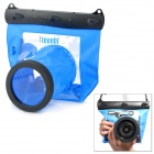 Tteoobl GQ-518L Waterproof Protective Bag for Canon 550D 18~55mm / Nikon D90 18~105mm + More - Black
