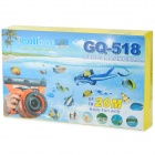 Tteoobl GQ-518 Waterproof Protective Bag for Canon 550D 18~55mm / Nikon D90 18~105mm + More - Black