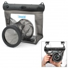 Tteoobl GQ-518L Waterproof Protective Bag for Canon 550D / Nikon D90 + More - Grey Brown
