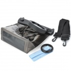 Tteoobl Waterproof Protective Bag for Canon 550D / Nikon D90 + More - Grey Brown