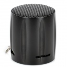 E129 Mini Pocket Speaker w/ TF Card Slot / FM - Black