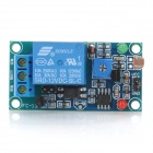 DC 12V Photoresistance Sensor + Relay Module Shield Board