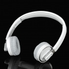 Rapoo H6080 Bluetooth 4.0 Foldable Headset w/Microphone / Speech Recognition Function - Grey + White