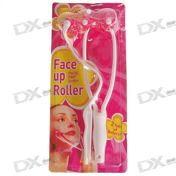 Face + Body Shaping Cuello Masaje Roller (2-Masajes Pack)