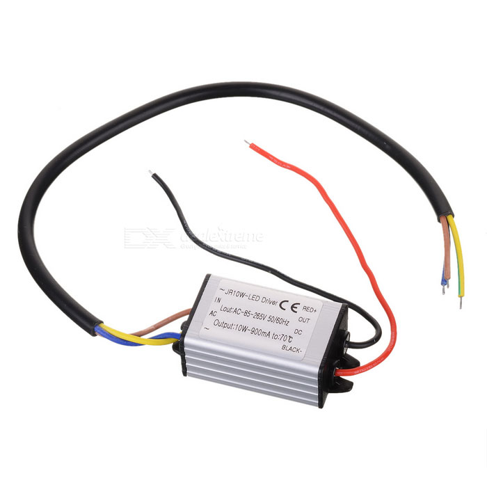 10W Waterproof LED Constant Current Power Supply Driver (AC 90~264V) 56w led driver dc45 55v 1 2a high power led driver for flood light street light constant current drive power supply ip65