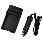 Nikon EN-EL14 Battery Charging Cradle w/ Car Charger for Nikon P5100 (100~240V / 2-Flat-Pin Plug)