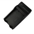 EN-EL14 Battery Charging Cradle w/ Car Charger for Nikon P5100 (100~240V / 2-Flat-Pin Plug)