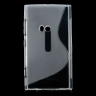 Protective TPU Soft Back Case Cover for Nokia Lumia 920 - Transparent White
