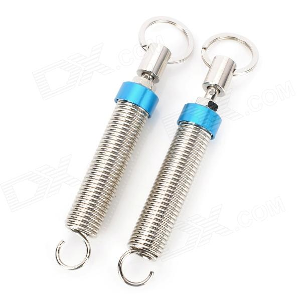 Fashion Adjustable Automatic Car Trunk Lid Lifting Spring Device - Blue + Silver (2 PCS)