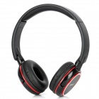 ShuaiXian SX-949 Bluetooth V2.1+EDR Stereo Headset Headphones w/ Microphone - Black + Red