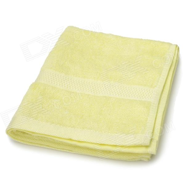 Bamboo Fiber Fast Absorption Soft Towel - Yellow