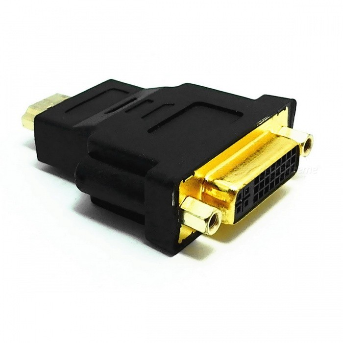 HDMI Male to DVI 24+5 Female Adapter
