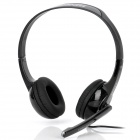 Bingle B320 Headband Headphones w/ Microphone - Black (3.5mm Plug)