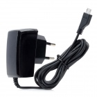 AC Power Adapter Charger for Samsung Galaxy Note 2 N7100 - Black (2-Round-Pin Plug)