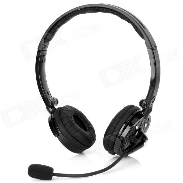 buy zb 20 bluetooth v2 1 stereo headset headphones w. Black Bedroom Furniture Sets. Home Design Ideas