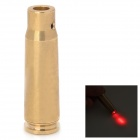 7.62x39mm Bullet Style Infrared IR Laser Gun Aiming Sight Bore Sight - Bronze (3 x LR41)