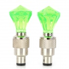0.1W LED Colorful Light Vehicle Tire Valve Flashing Lamp (2 PCS / 4.5V)