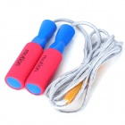 Motion Professional Exercise Jump Rope - Blue + Red + Silver Grey