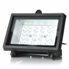 Waterproof Solar 2W 200lm 7000K 30-LED White Light Lamp - Black