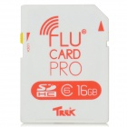 FluCard PRO SD Memory Card w/ Wi-Fi for Camera - White (16GB / Class 6)