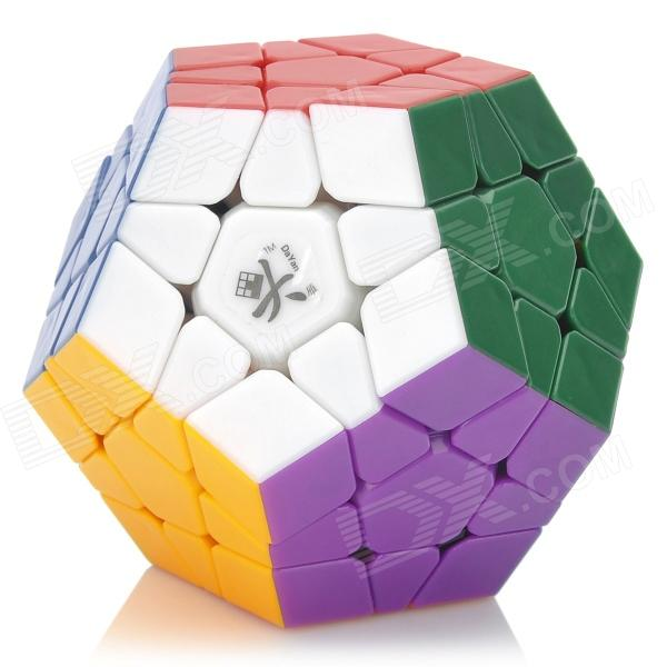 DaYan Megamix 12-Axis 3-Rank Brain Teaser IQ Magic Cube (12-Color) new dayan gem cube vi magic cube black and white professional pvc