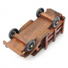 Wooden Truck Display Toy - Brown