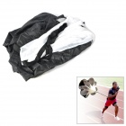 Speed Training Resistance Running Chute Sprinting Extreme Sports Polyester Parachute - Black