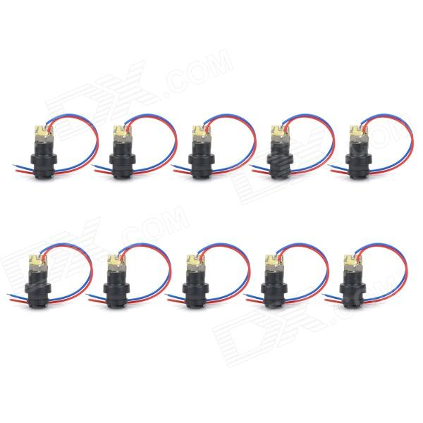 12 milímetros 5mW Red Laser Diode Modules - Black (DC 4.5V)