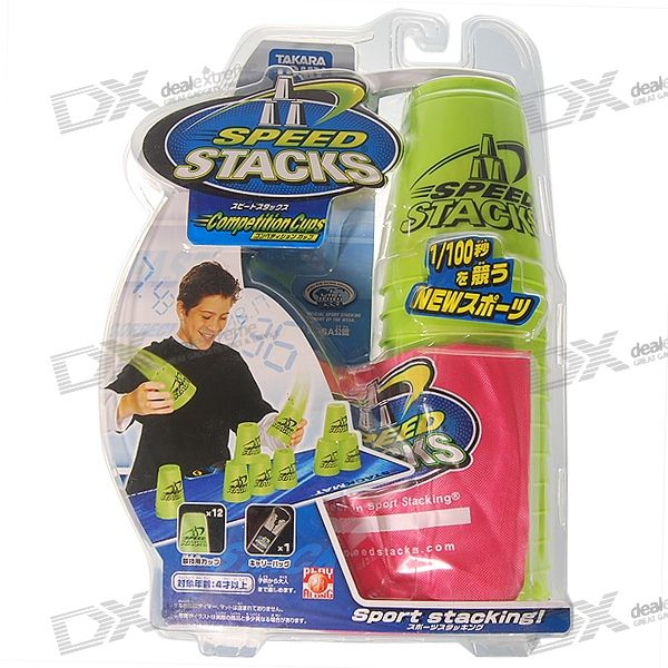 Speed Stack Cups Game (12-Cup Pack)