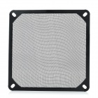 Akasa Aluminum Computer Case Fan Dust Guard Grill Filter - Black (14 x 14cm)