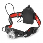 Cree XR-E Q5 120lm 2-Mode White Light Zooming Headlamp - Silver + Black (3 x AAA)