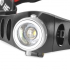120lm 2-Mode White Light Zooming Headlamp - Silver + Black (3 x AAA)