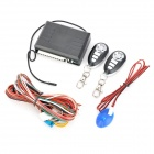 NST-C110 Universal Car Remote Central Lock Keyless Entry System w/ Remote Controllers - Black