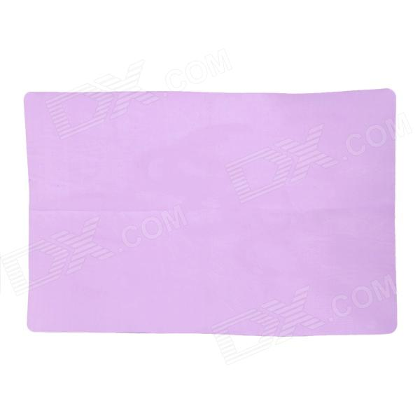 PVA Chamois Car / House Cleaning Towel Cloth - Purple (Size L)