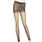 Lang Sha S2266 Ultra-Thin Nylon + Spandex Tights Footless Pantyhose - Black