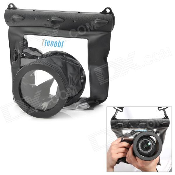 Tteoobl Waterproof Protective Bag for Canon 550D / Nikon D90 + More - Black