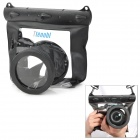 Tteoobl GQ-518L Waterproof Protective Bag for Canon 550D / Nikon D90 + More - Black