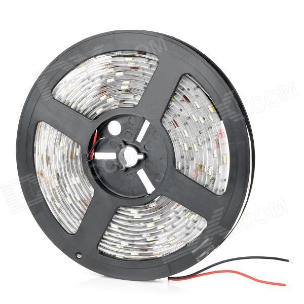 Waterproof 36W 2400lm 150-SMD 5050 LED Warm White Light Car Decoration Lamp Flexible Strip (5M)