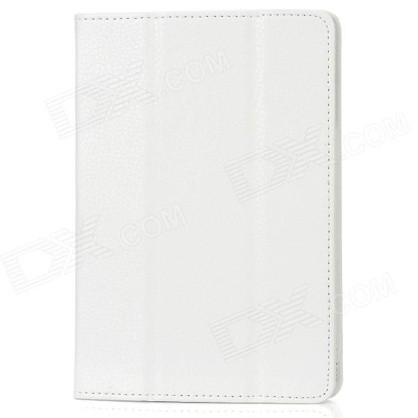 Folding Protective PU Leather Case for Ipad MINI - White