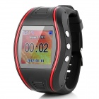Heacent HC628 GPS Watch Tracker with SOS - Red + Black