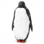 Decorative Cute Resin Penguin Toy - Black + White
