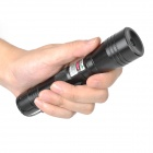 SD-210 Aluminum 5mW 532nm Green Laser Pointer - Black (1 x 18650)