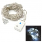 6W 96-LED 8-Mode White Light Christmas Decorative String Light (220V / 2-Round-Pin Plug)
